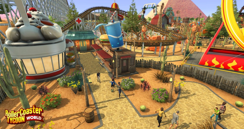 Its been several years since RolllerCoaster Tycoon world was announced