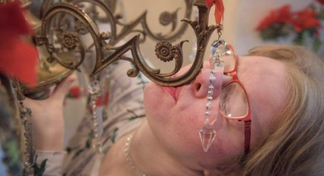 Woman Dates Chandelier In Bizarre Relationship